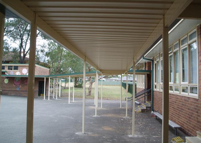 School Walkway Cover 02