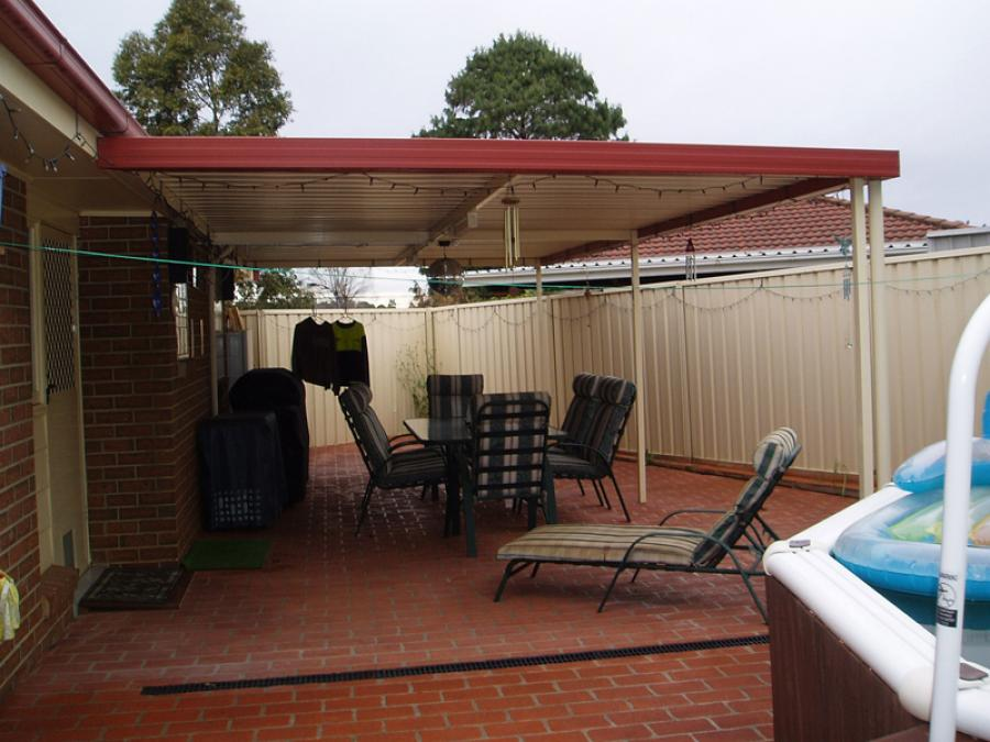 Flat Roof Awning 09