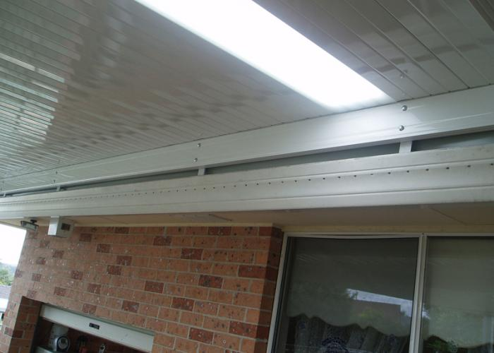 Flat Roof Awning 15